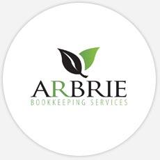 Arbrie Bookkeeping Custom Logo Design