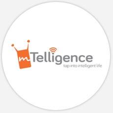 mTelligence Custom Logo Design