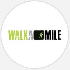Walk A Mile Custom Logo Design